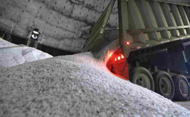 How Much Salt Did You Throw Away Last Winter?